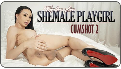 Shemale Playgirl Cumshot 2