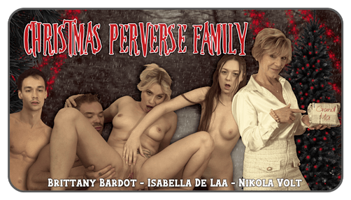 Christmas Perverse Family