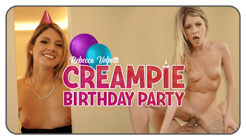 Creampie Birthday Party