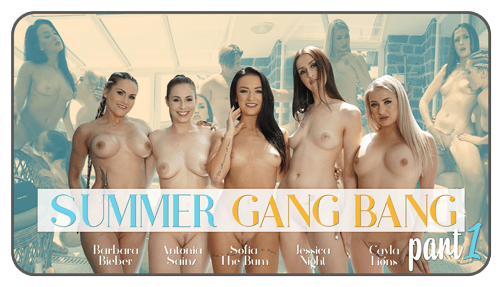 Summer Gang Bang part 1